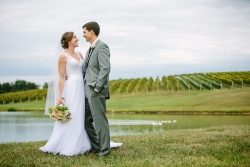 Amy and Jon were married at Veritas Winery on Augst 30, 2014.
