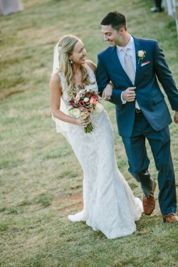 Jenna and Mario were married on a beautiful Fall day at Veritas Winery in Afton Virginia on September 26, 2014.